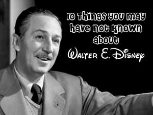 10 Things about Walt