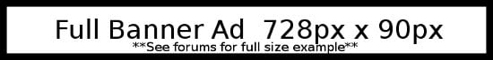 Banner for ad page
