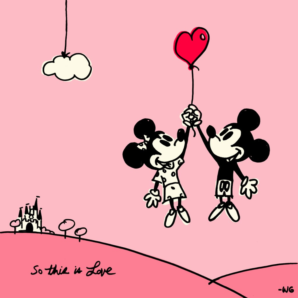 Disney Love Is In The Air 1