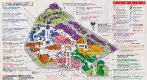 Hollywood Studios Map 2