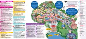 Hollywood Studios Map