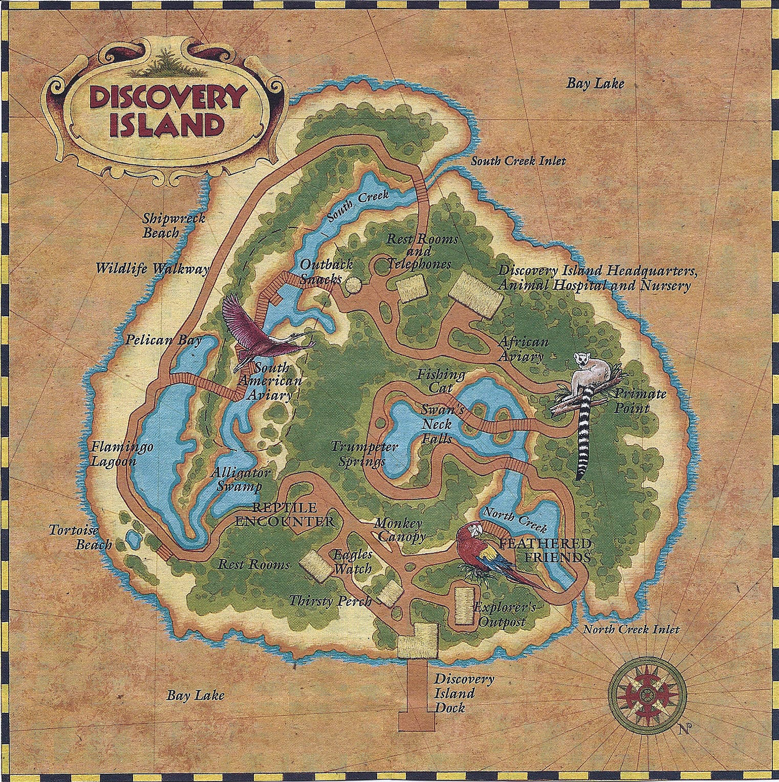 Discovery Island And River Country