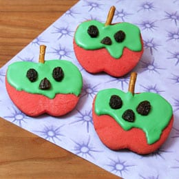 Snow White Poison Apple Cookies 8