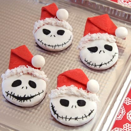 Jack Skellington's Sandy Claws Cookies ~ An Early Suggestion for Holiday Baking! 8