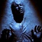 Han Frozen in Carbonite