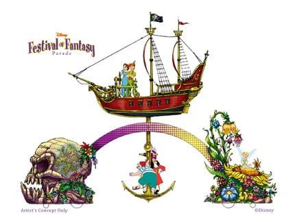 Building the 'Disney Festival of Fantasy Parade' for Magic Kingdom Park 1