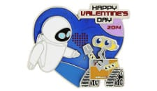Valentine's Day Wall-E and Eve