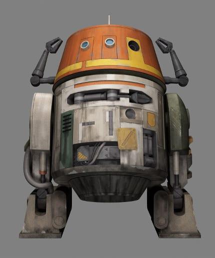 'Star Wars Rebels' Introduces Chopper, a Droid 1