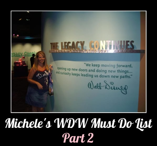 Michele's WDW Must-Do List, Part 2 4
