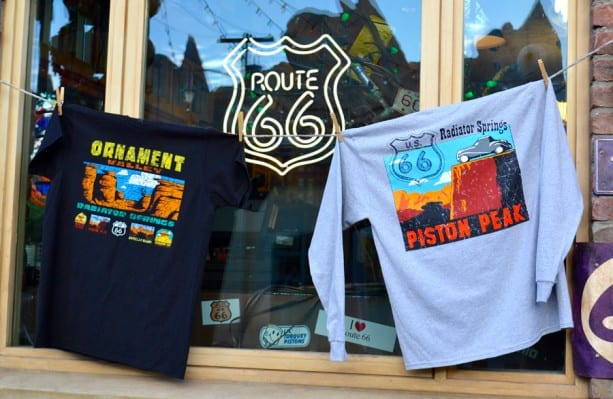 Nostalgic Authentic Cars Land T-Shirts Debut at Disney California Adventure Park 1