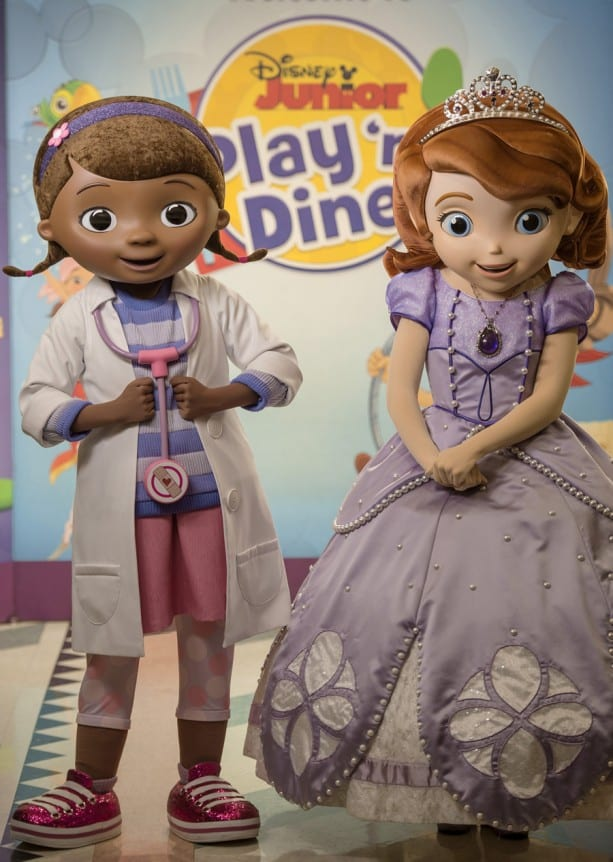 Doc McStuffins and Sofia the First Make Their Debut at Disney Junior Play 'n Dine at Disney's Hollywood Studios 1