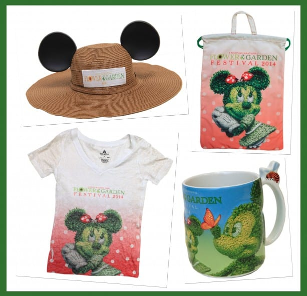 New Merchandise to Bloom at the 2014 Epcot International Flower & Garden Festival Starting March 5 1