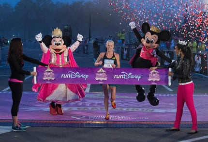 Congratulations to Kim Smith, Winner of the Disney Princess Half Marathon 1