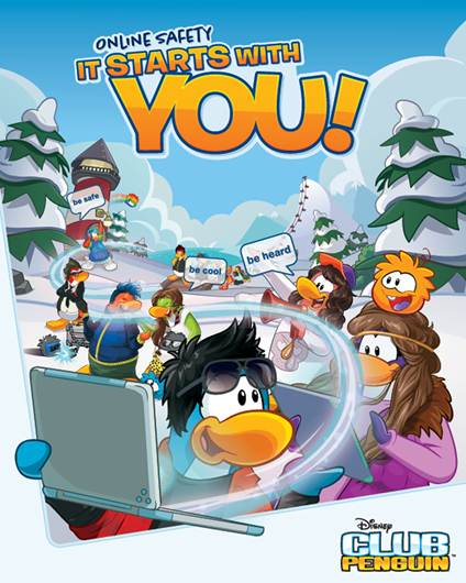 Disny Club Penguin Launches Global Online Safety Campaign 1