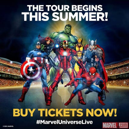 Characters Revealed For Marvel Universe Live 1