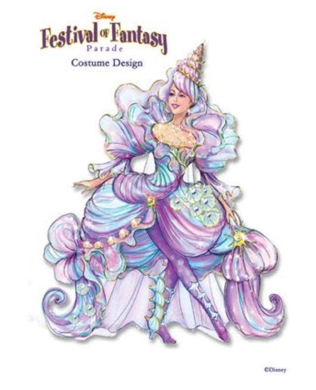 Insider Information on the Festival of Fantasy Parade Costumes! 1