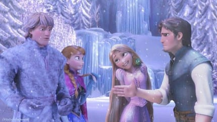 Indisputable Proof That 'Frozen' and 'Tangled' Exist in the Same Universe 1