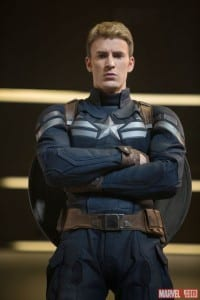 Chris Evans stars as Captain America