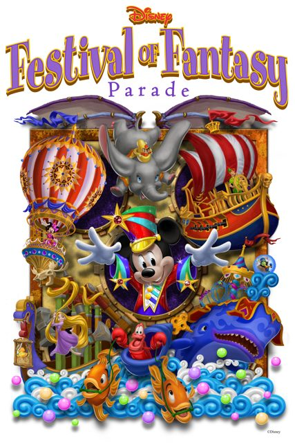 Disney Festival of Fantasy Parade Steps Off Sunday at Magic Kingdom Park 5
