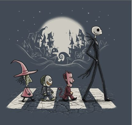 Nightmare Before Christmas Inspired TeeFury Shirts 5