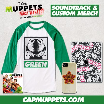 Bundle Your Muppets Most Wanted Soundtrack with Custom Muppets Merch 1