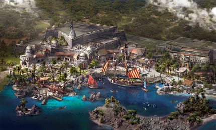 Shanghai Disneyland's Treasure Cove Unveiled 3