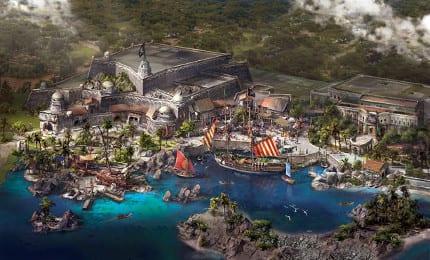 Shanghai Disneyland's Treasure Cove Unveiled 1