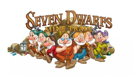 CGI Ride on The Seven Dwarfs Mine Train 2