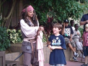 Captain Jack Sparrow And The Best Day Ever... #TBT 17