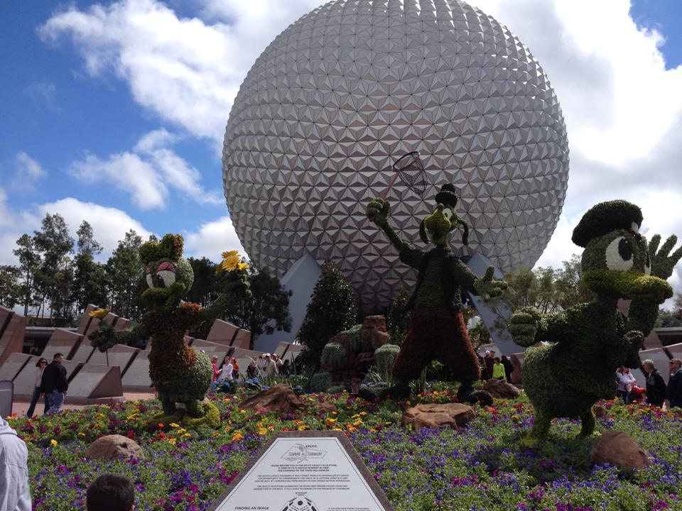 More pictures from Epcot's Flower and Garden Festival! 1