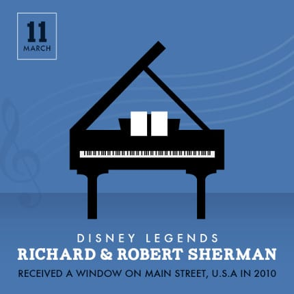 Anniversary of the Sherman Brothers Receiving Their Window 1