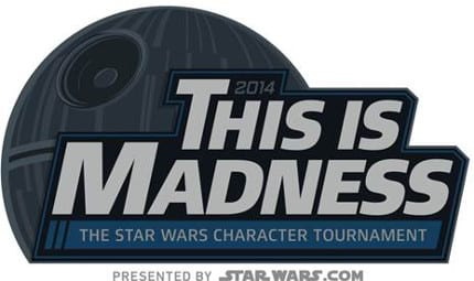 This is Madness 2014 - Star Wars Character Tournament 1