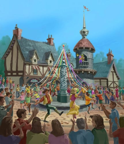 Today in Disney History: Fantasy Faire Opens at Disneyland Park, 2013 1