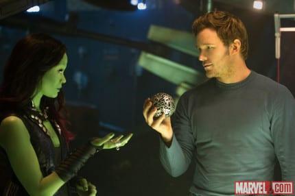 Gamora and Peter