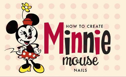 Show Your 'Disney Side': Minnie Mouse Nail Tutorial 10