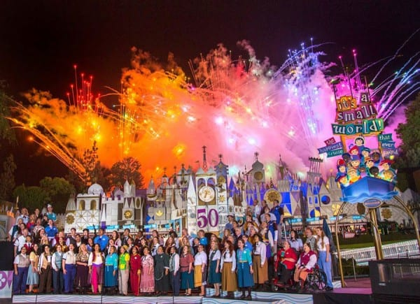 "The World Celebrates ""it's a small world"" 5"