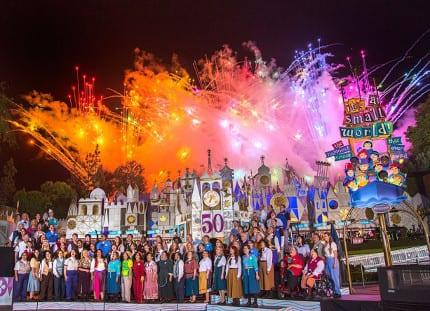 "The World Celebrates ""it's a small world"" 1"