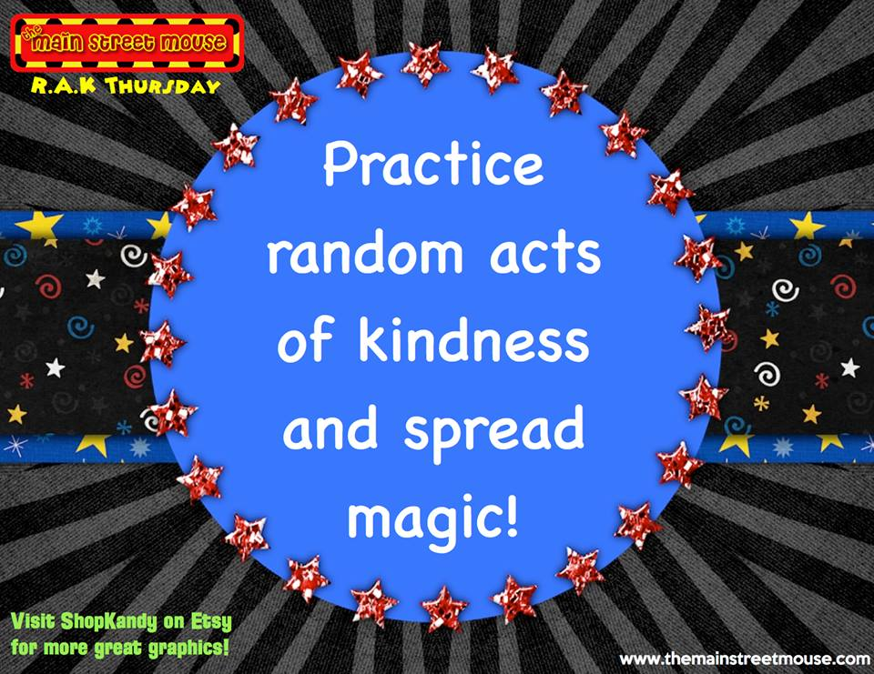 TMSM's Thursday Random Acts of Kindness ~ More Fantastic Cast Members! 11