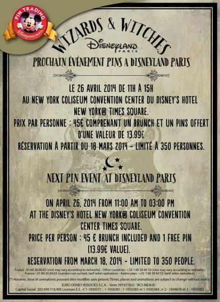 Disneyland Paris Pin Trading Event 1