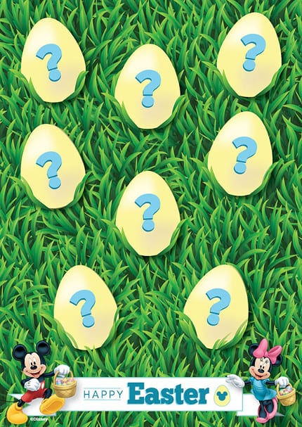 Join Disney's Digital Easter Egg Hunt on April 20 23