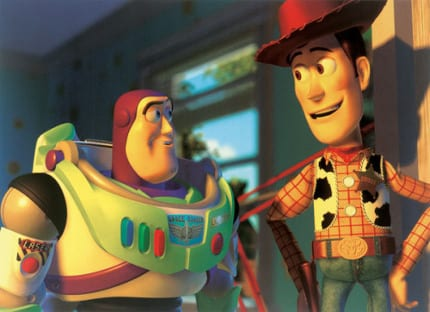 Where is Andy's Dad in Toy Story? 1