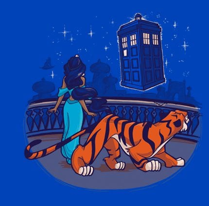 TeeFury Disney/Dr. Who Mashup Available Today!!! 2