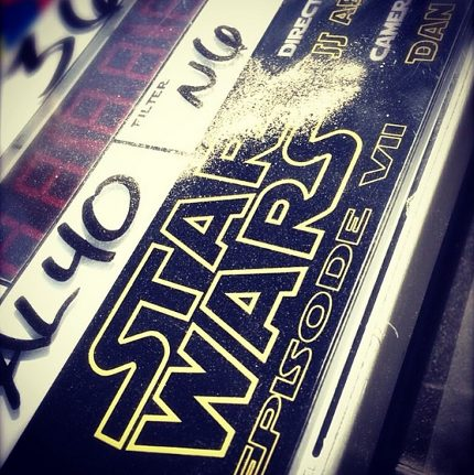 First Star Wars Episode VII Photos Make Their Way To Instagram 1