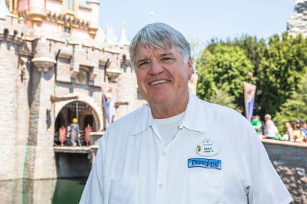 Mike Larson, Disneyland Cast Member for 50 Years 14