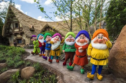 Watch the Seven Dwarfs Mine Train Dedication Live from Magic Kingdom Park 10