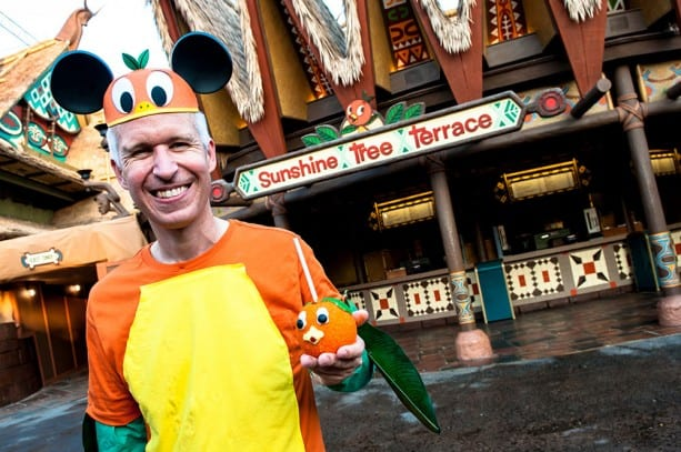 Happy Little Orange Bird Apple Lands at Magic Kingdom Park 9