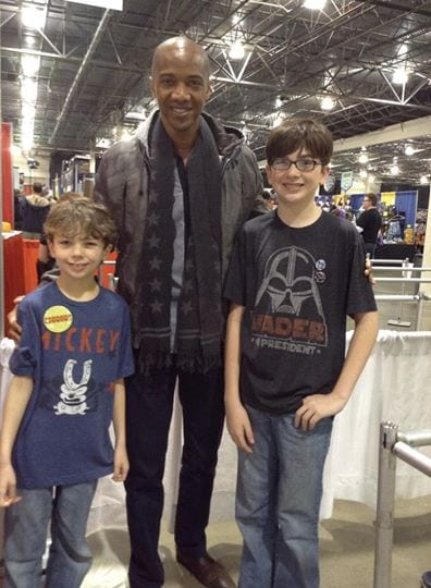 TMSM Meets J. August Richards aka Mike/Deathlok from Marvel's Agents of SHIELD! 1