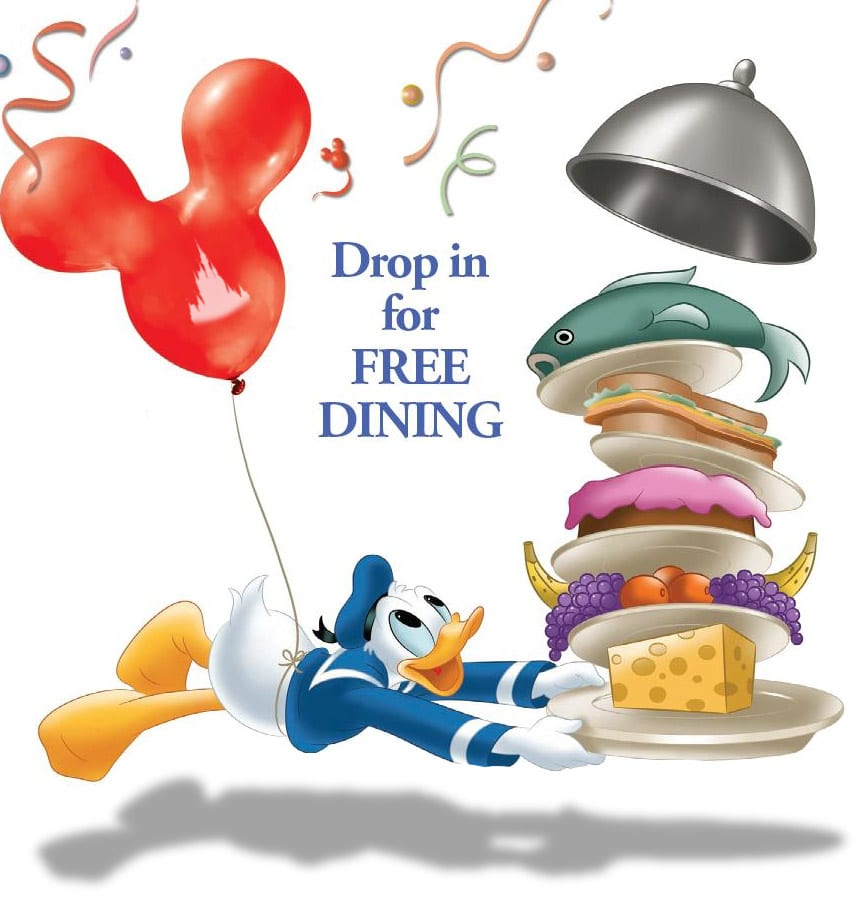 FREE DINING offer for Select Dates/Resorts at Walt Disney World! 5