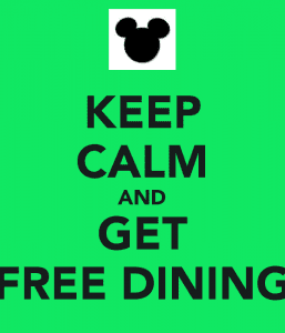 Walt disney world resort free dining offer for disney How to get free dining at disney