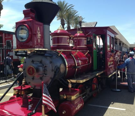 Full Steam Ahead as the Disneyland Railroad Visits Fullerton Railroad Days 2